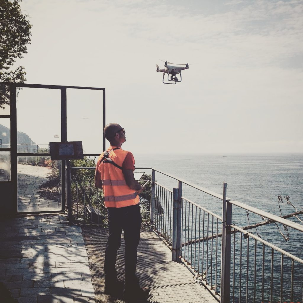 Paolo Corradeghini UAV pilot