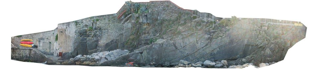 Picture of high definition orthonosaic of Riomaggiore harbour - 5 Terre - Italy