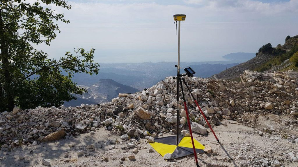 GNSS in a marble quarry