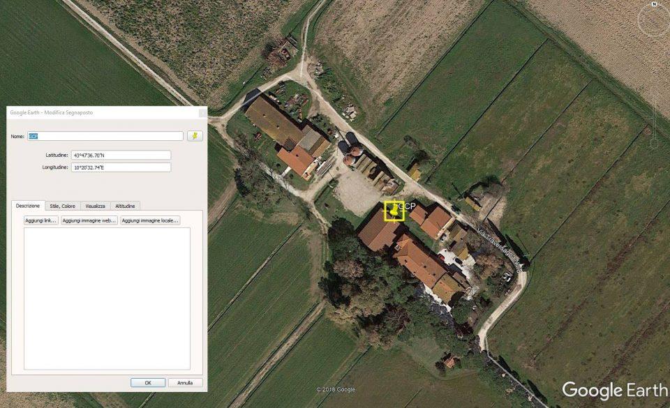 Google Earth and GCP