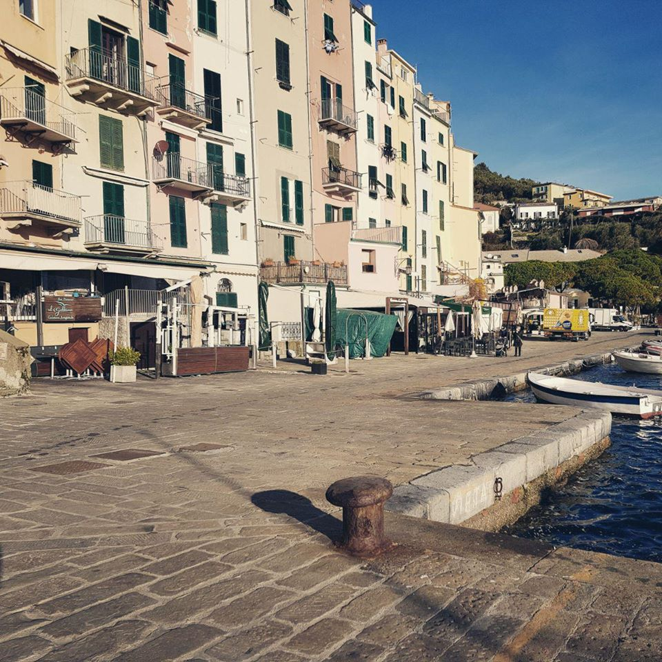 Image of Portovenere and Calata Doria's ancient pavement